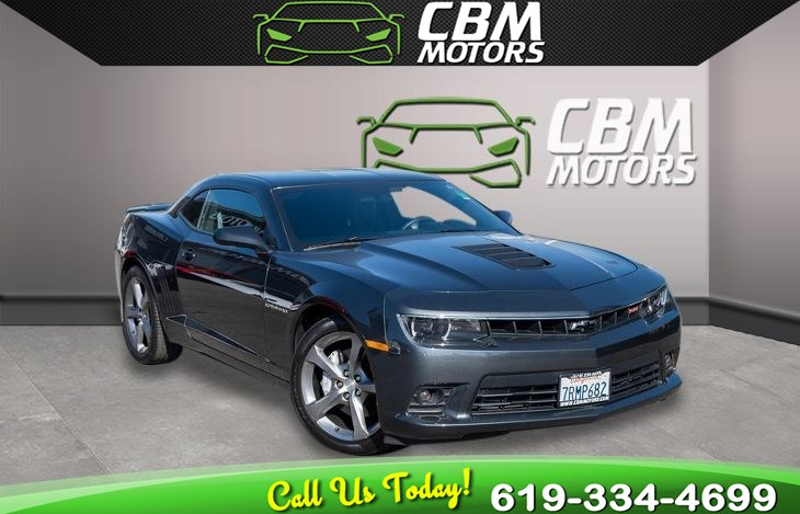 2014 Chevrolet Camaro SS 6.2L 6-SPEED MANUAL W/ RS PKG