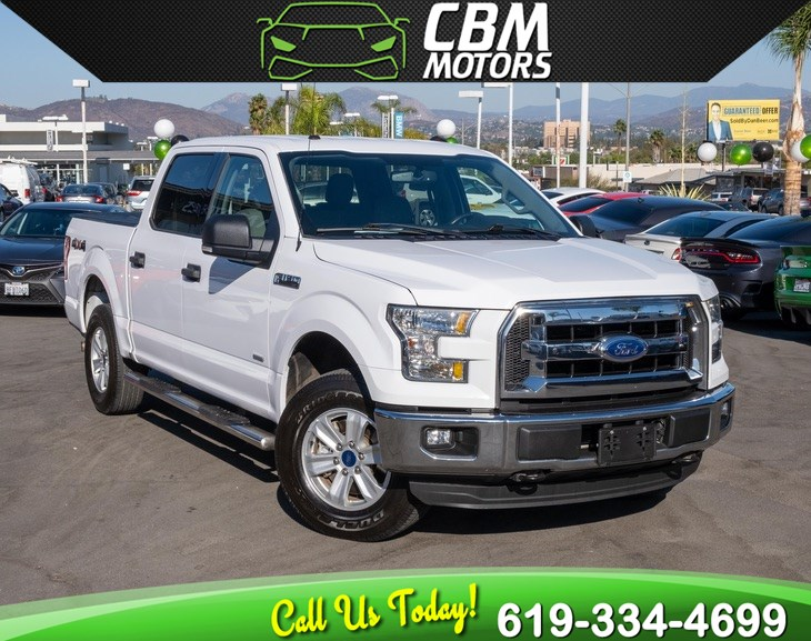 2016 Ford F-150 XLT ECOBOOST 4X4
