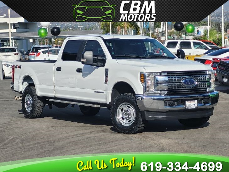 2018 Ford Super Duty F-350 SRW XL 4X4 6.7L TURBOCHARGED LONG BED