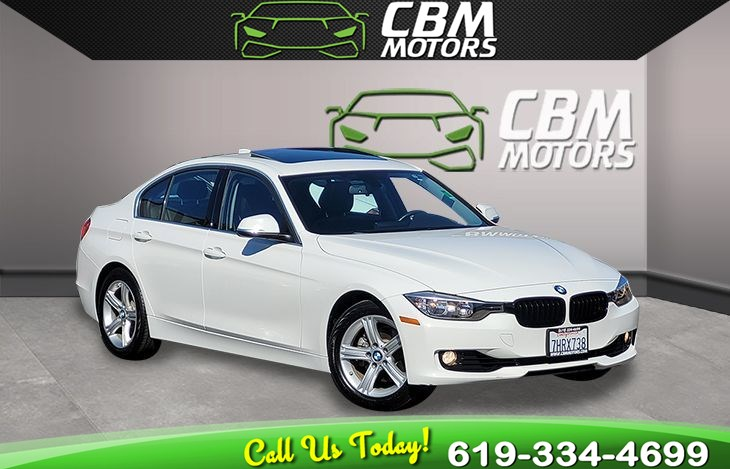 2015 BMW 3 Series 328i TURBOCHARGED W/ MOONROOF/ NAVIGATION