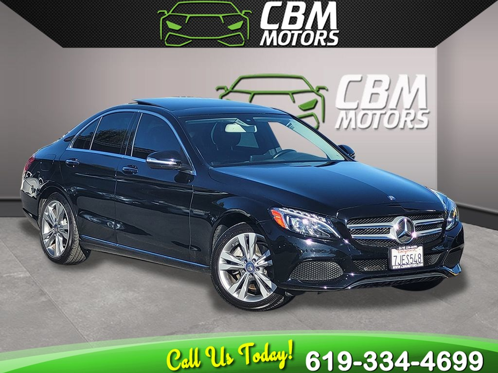 2015 Mercedes-Benz C 300 4MATIC TURBOCHARGED  PREMIUM PKG/ PAN MOONROOF