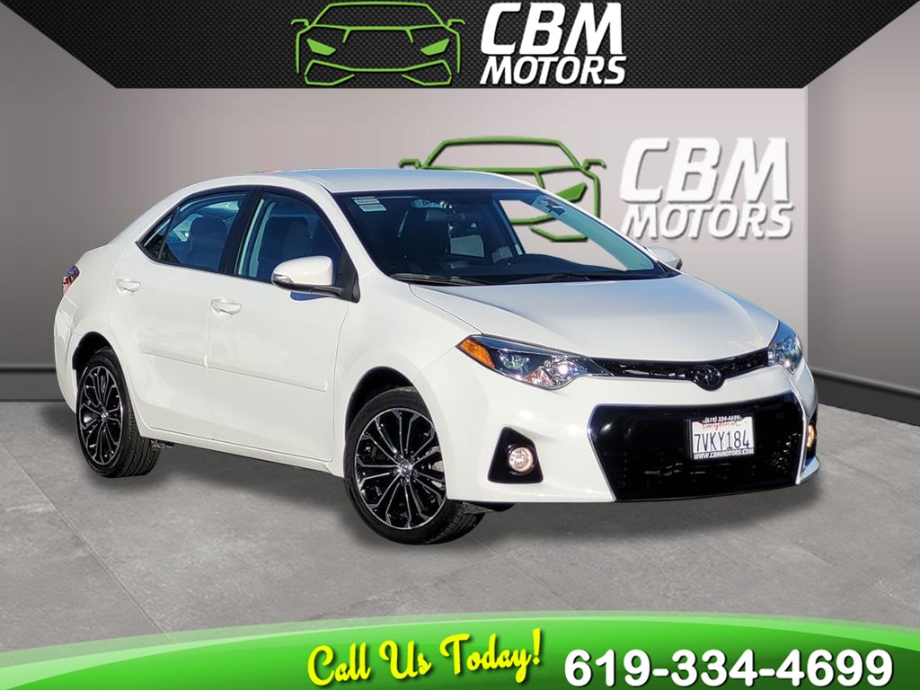 2016 Toyota Corolla S Plus W/ BACK UP CAMERA