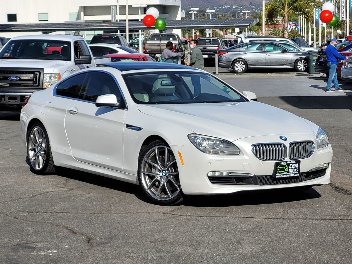 2012 BMW 6 Series 650i TURBOCHARGED