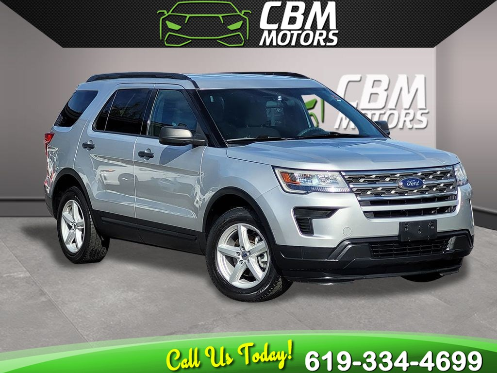 2018 Ford Explorer AWD 3.5L W/ 3RD ROW