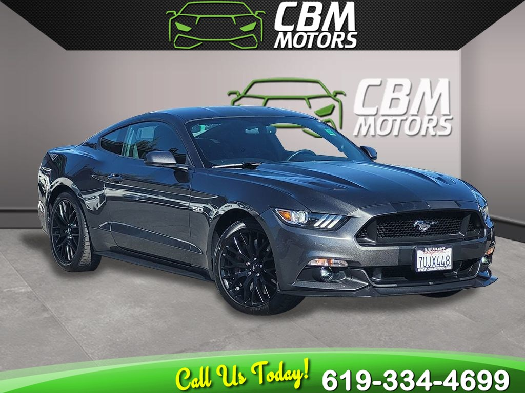 2017 Ford Mustang GT 5.0L 6-SPEED MANUAL