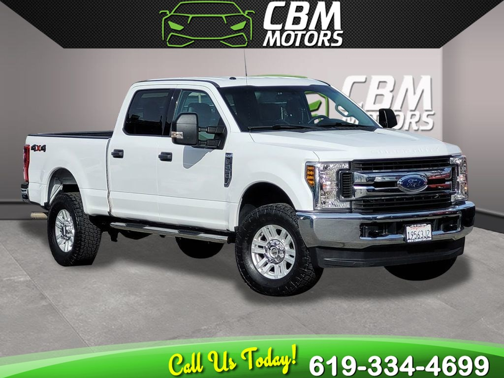 2018 Ford Super Duty F-250 SRW XLT 6.2L 4X4