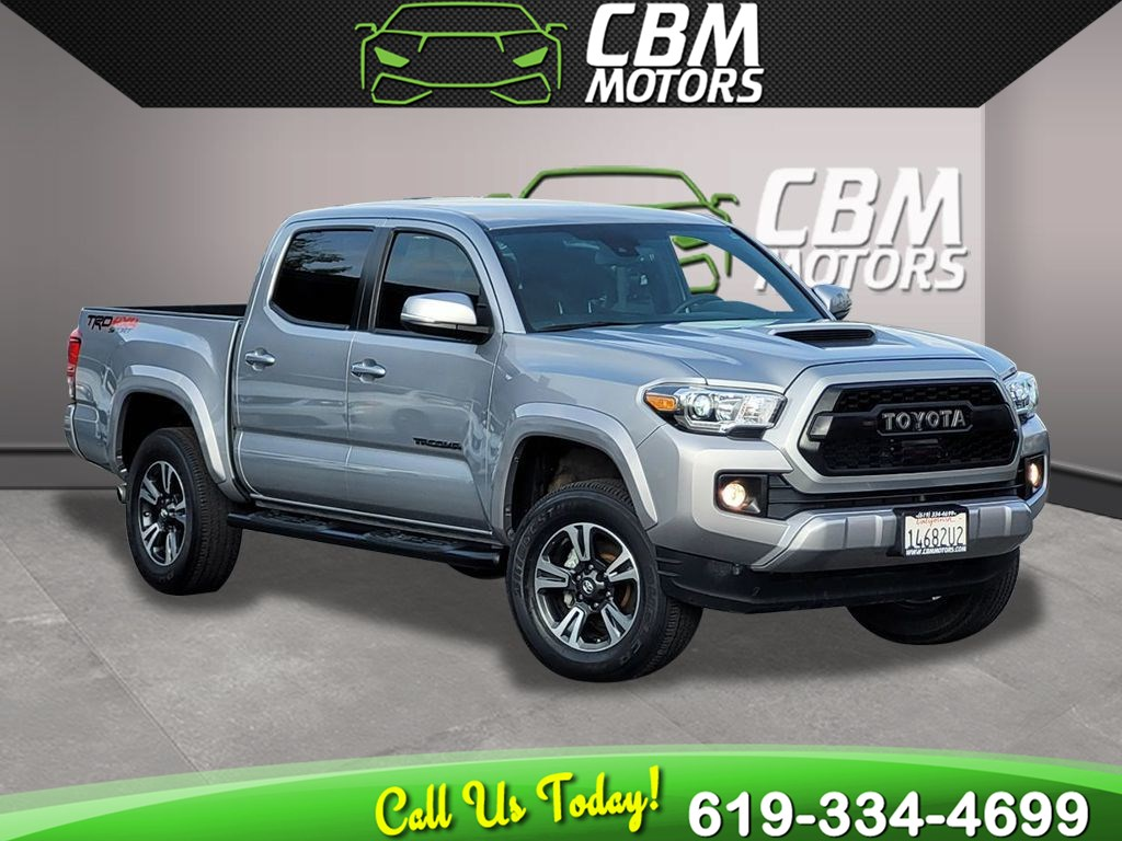 2019 Toyota Tacoma 4WD TRD Sport DOUBLE CAB W/ TECHNOLOGY PKG