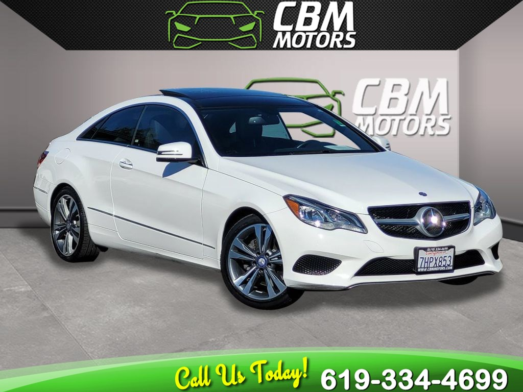 2017 Mercedes-Benz E 400 COUPE PREMIUM1 PKG