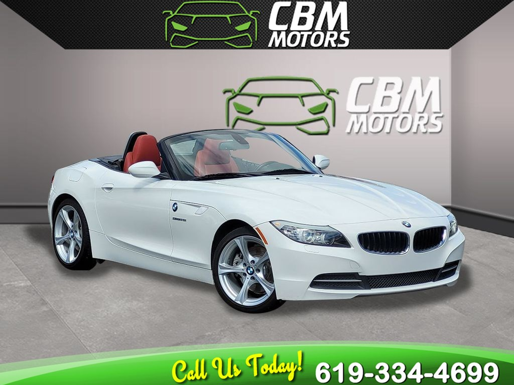2013 BMW Z4 sDrive28i TURBOCHARGED CONVERTIBLE W/ SPORT PKG