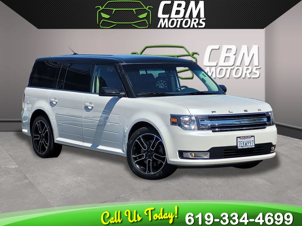 2014 Ford Flex SEL Crossover 3.5L W/ 3RD ROW