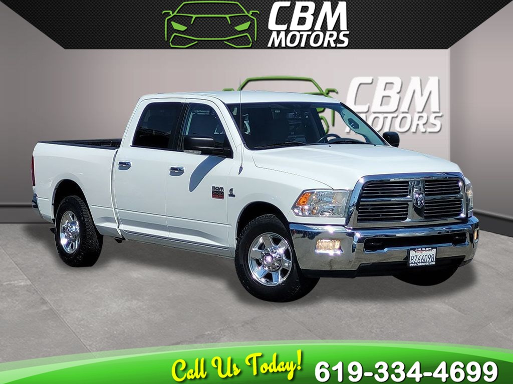2010 Dodge Ram 2500 SLT 2WD TURBOCHARGED 6.7L