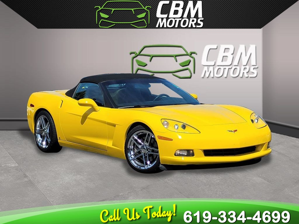 2005 Chevrolet Corvette Convertible 6 SPEED MANUAL, W/ NAV
