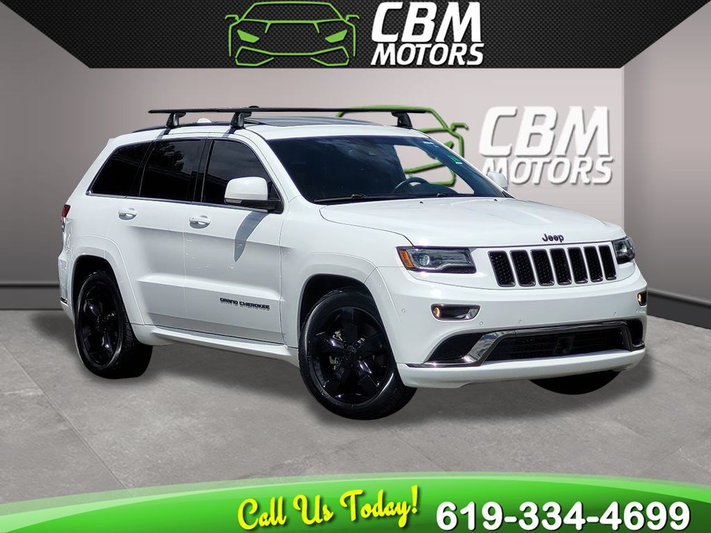 2015 Jeep Grand Cherokee High Altitude 4WD W/NAVIGATION