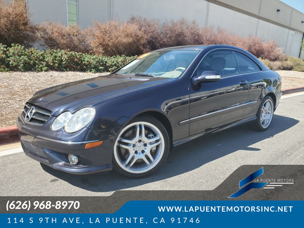 2009 Mercedes-Benz CLK550 Coupe