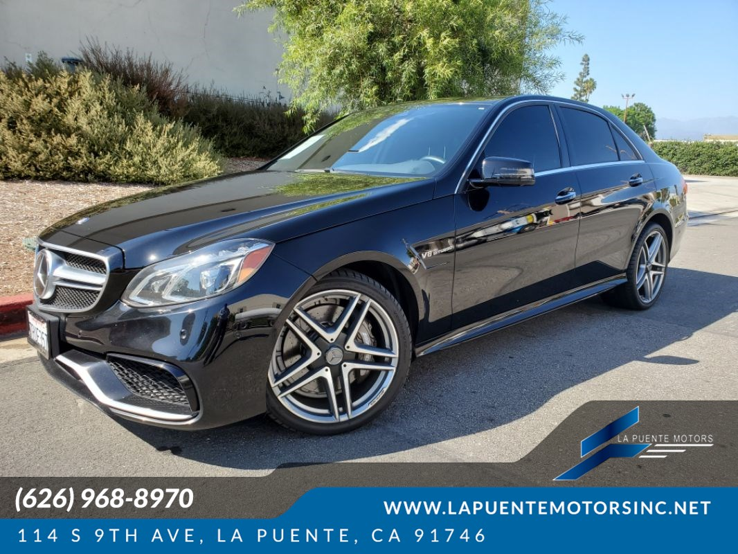 2014 Mercedes-Benz E 63 AMG Sedan 4MATIC