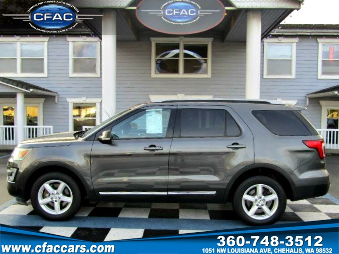2016 Ford Explorer XLT 4WD w/3rd Row SUV