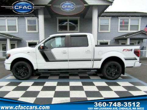 2014 Ford F-150 FX-4 SUPERCREW 4WD(ONLY 21K MILES)