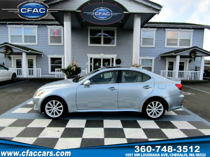 2007 Lexus IS 250 LUXURY AWD SEDAN (28 MPG!!)