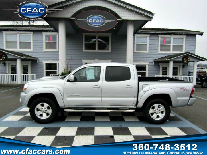 2010 Toyota Tacoma PreRunner DBL/CAB 2WD