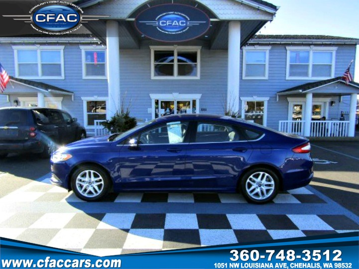 2016 Ford Fusion SE SEDAN   (1 OWNER) (34 MPG!!)