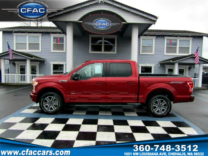 2016 Ford F-150 XLT/SPORT SUPERCREW 4WD (1OWNER)