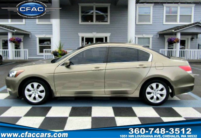 2008 Honda Accord EX Sedan (31 MPG)