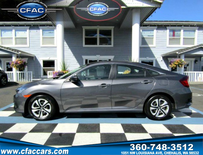 2017 Honda Civic LX SEDAN (1 OWNER-40 MPG)
