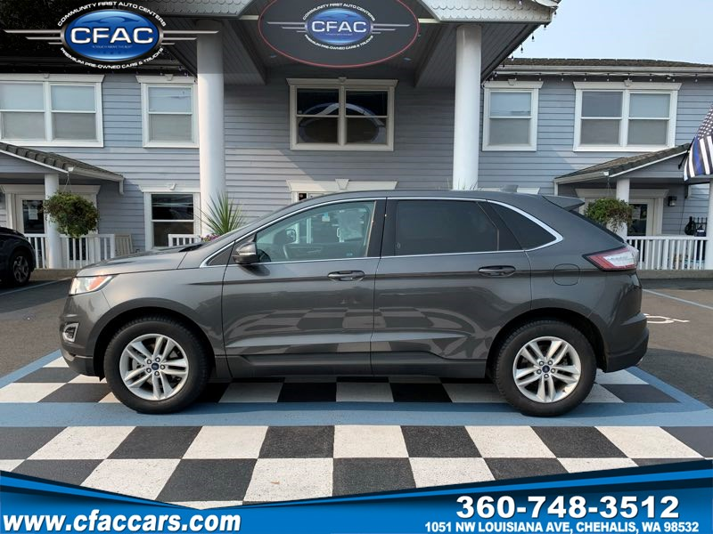 2017 Ford Edge SEL FWD SUV  1-OWNER  29MPG