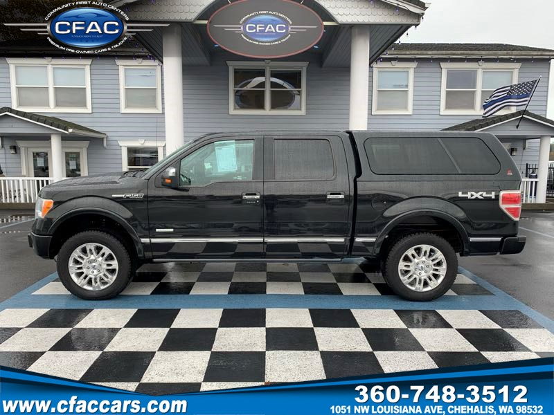 2011 Ford F-150 Platinum SuperCrew 4WD