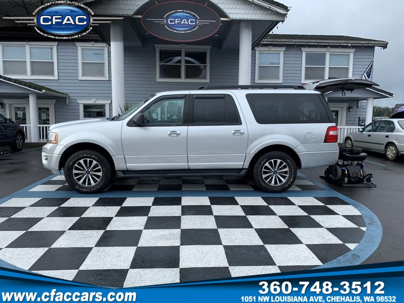 2016 Ford Expedition EL XLT 4WD W/ MOBILITY SYSTEM