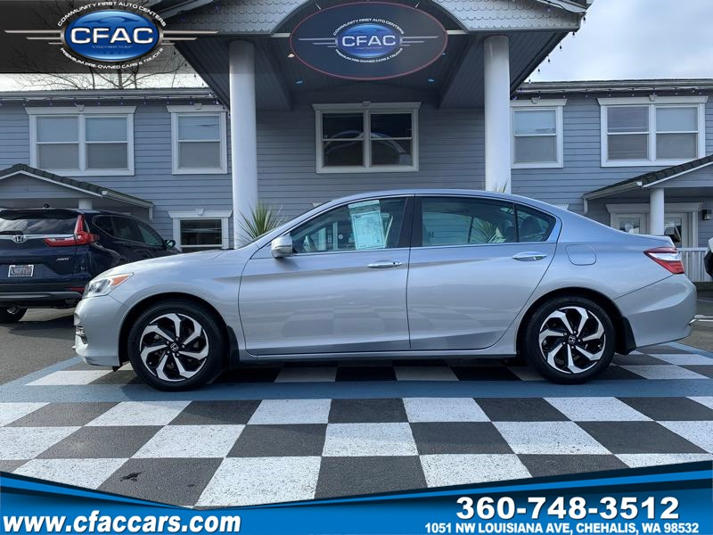 2016 Honda Accord EX SEDAN w/Honda Sensing (1 OWNER)