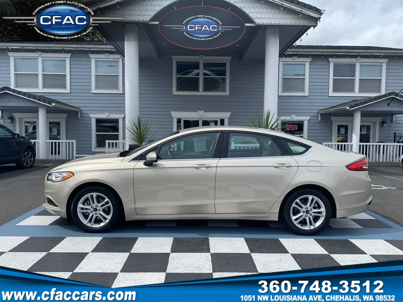 2018 Ford Fusion SE Sedan (1 Owner) ( 32 MPG)