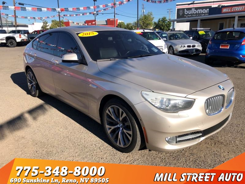 Used 2010 BMW 5 Series Gran Turismo 550i In Reno
