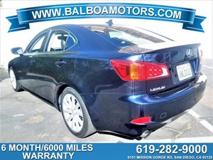 View 2010 Lexus IS 250 + 6 Month / 6000 Warranty included
