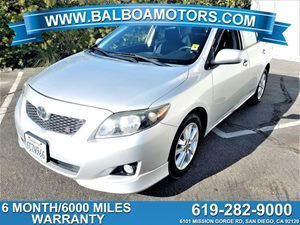 View 2009 Toyota Corolla + 6 Month / 6000 Mile Warranty