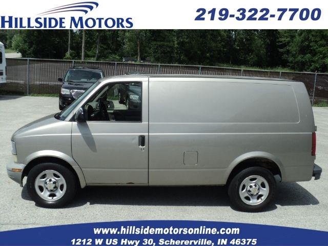 Sold 2005 Chevrolet Astro Cargo Van In Schererville