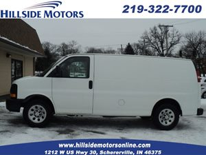 View 2010 Chevrolet Express Cargo Van