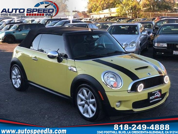 Sold 2009 Mini Cooper Convertible S In La Crescenta Glendale