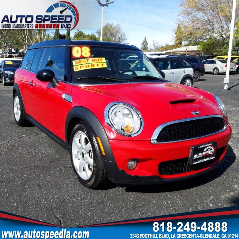 Used 2008 Mini Cooper Clubman S In La Crescenta Glendale