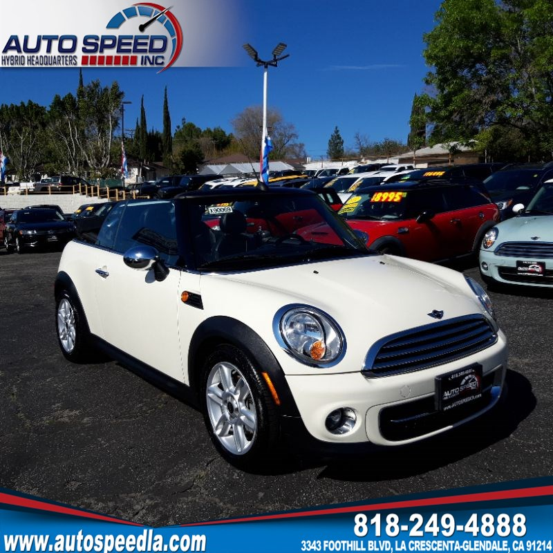 Sold 2011 Mini Cooper Convertible In La Crescenta Glendale