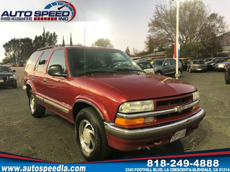 Sold 1998 Chevrolet Blazer Lt In La Crescenta Glendale