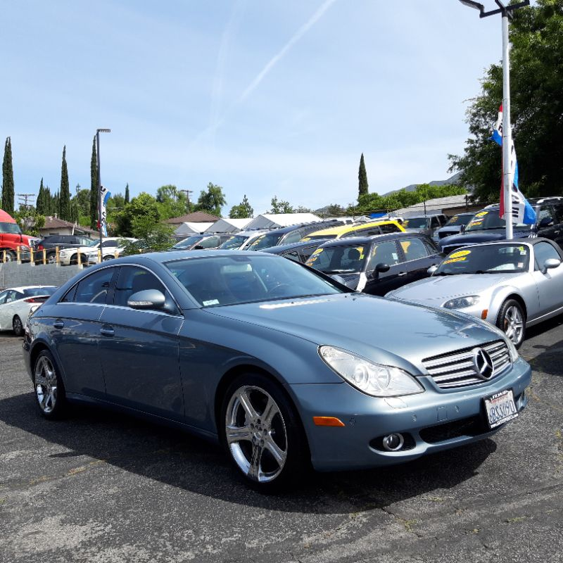 2007 Mercedes-Benz CLS550 Coupe