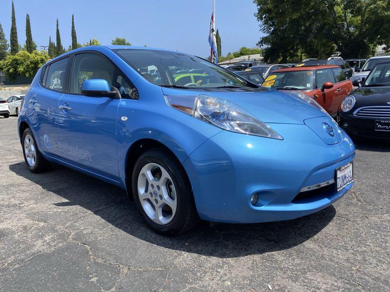 Used 2012 Nissan Leaf Sl In La Crescenta Glendale