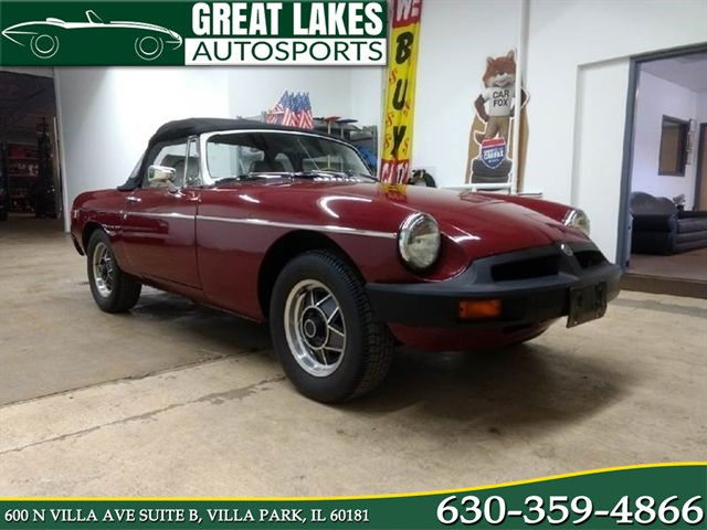 Sold 1979 MG MGB In Villa Park