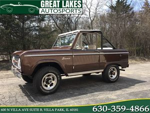 View 1970 Ford Bronco 4x4