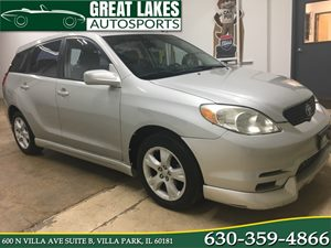 View 2003 Toyota Matrix
