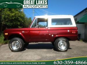 View 1972 Ford Bronco Sport 4x4