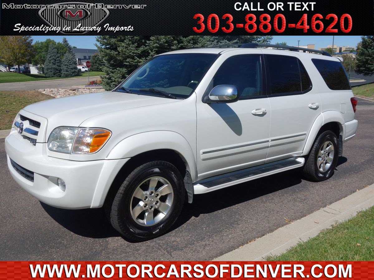 Used Toyota For Sale Centennial Co Motorcars Of Denver Sequoia Fuel Filter Location 2007 Limited