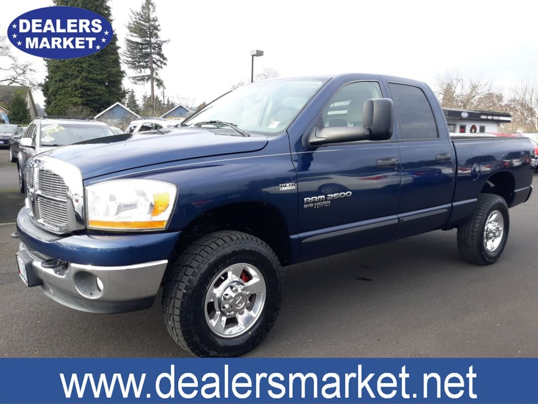 Sold 2006 Dodge Ram 2500 Slt In Scappoose