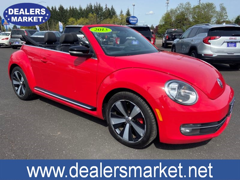 2013 Volkswagen Beetle Convertible Turbo